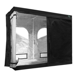Greenfingers Hydroponics Grow Tent Kits Hydroponic Grow System 2.4m x 1.2m x 2m 600D Oxford